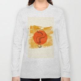questionmark Long Sleeve T-shirt