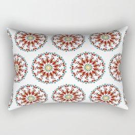 Hand drawn Mandala design Rectangular Pillow