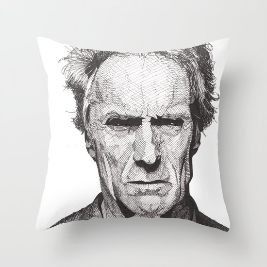 Clint Throw Pillow