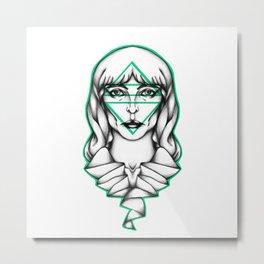 Flo. Metal Print