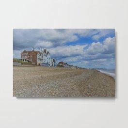 Aldeburgh Beach View Metal Print