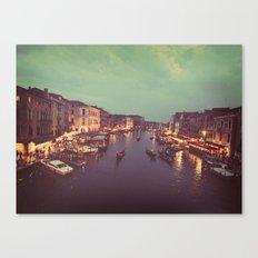 Pretty Lights in Venice  Canvas Print