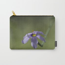 Blue-Eyed Grass Carry-All Pouch