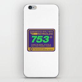 Reynolds 753, Enhanced iPhone Skin