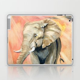 Mom and Baby Elephant Laptop & iPad Skin