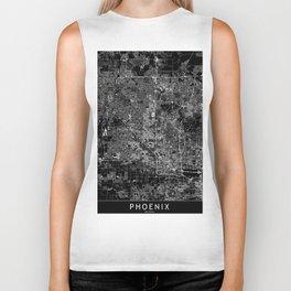 Phoenix Black Map Biker Tank