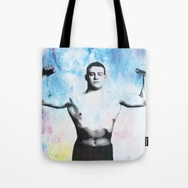 Muscle Man Tote Bag
