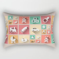 Baby Windows 8.1 Rectangular Pillow