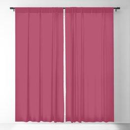 Dunn & Edwards 2019 Trending Colors Sangria (Pink) DE5041 Solid Color Blackout Curtain