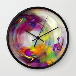 bubbles 1 Wall Clock