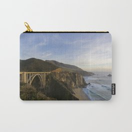 Bixby Bridge at Big Sur Carry-All Pouch