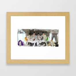 Clockwork Orange - Alex and his Three Droogs Framed Art Print