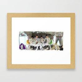 Clockwork Orange - Alex and his Three Droogs Framed Art Print