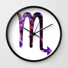 Galactic Scorpio Wall Clock