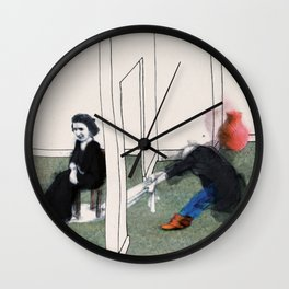 The Monster Series (7/8) Wall Clock