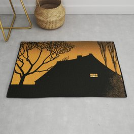 Julie de Graag - Winter evening Rug