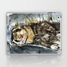 She is a ferret Laptop & iPad Skin