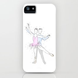 Ballerina Couple iPhone Case