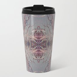 Pink fire geometry IV Travel Mug
