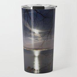 Spooky moon Travel Mug