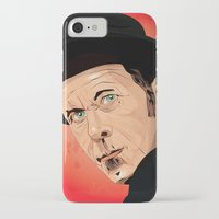 tom waits iPhone & iPod Cases featuring Tom Waits by Brian Madden