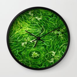 The Mystery Of The Grass Wall Clock
