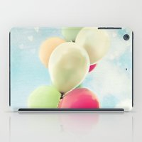 balloons iPad Cases featuring balloons by Sylvia Cook Photography