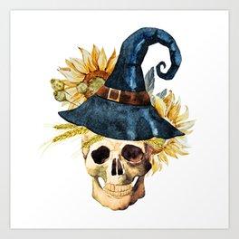 Skull 05 Art Print