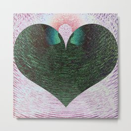 Heart Lite/Light #1 Metal Print