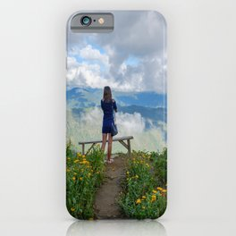 Angelic View iPhone Case
