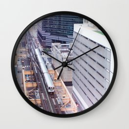 Downtown Bound Wall Clock