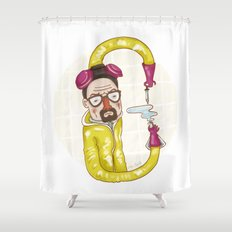 Breaking Bad (alphabet series TV) Shower Curtain