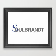 Soulbrandt Framed Art Print