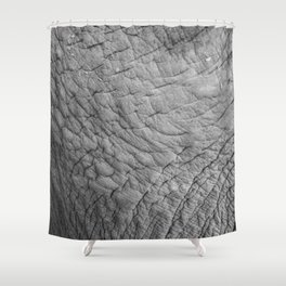 Wildlife Collection: Elephant Skin Shower Curtain