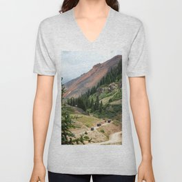 Red Mountain Pass Convoy Unisex V-Neck