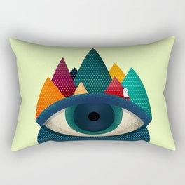 068 - I've seen it owl Rectangular Pillow