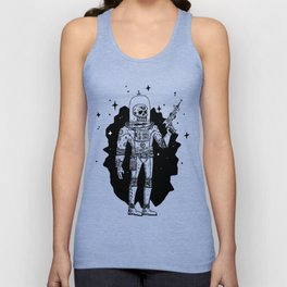 Intergalactic Bone Man Unisex Tank Top