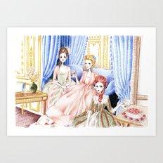Marie Antoinette (1) Art Print