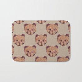 Dog Bear Bath Mat