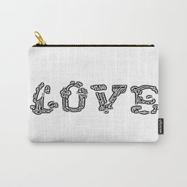 Love Breaking Through Carry-All Pouch