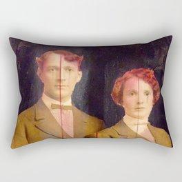 Red couple Rectangular Pillow
