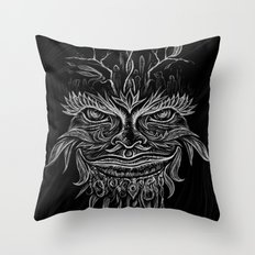 Forest Elemental Throw Pillow