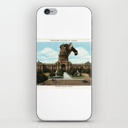 The King of Austin iPhone Skin