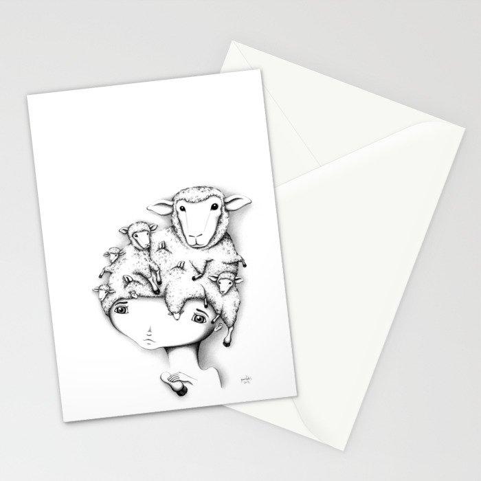 Merino Mutation Stationery Cards