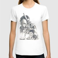 walking dead T-shirts featuring Walking Dead by Heather Andrewski