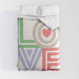 Valentine Love note Comforters