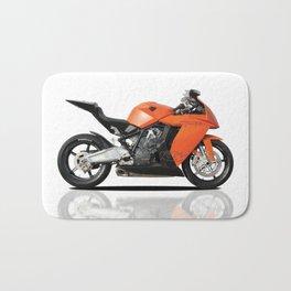 KTM RC8 motorbike Bath Mat