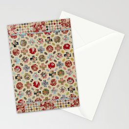 Levens Hall Quilt Stationery Cards