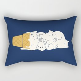 Meowlting Rectangular Pillow