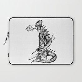Fierce (Inktober 2017) Laptop Sleeve